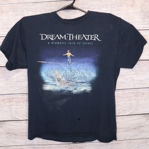 2011 Dream Theater Band Shirt Large